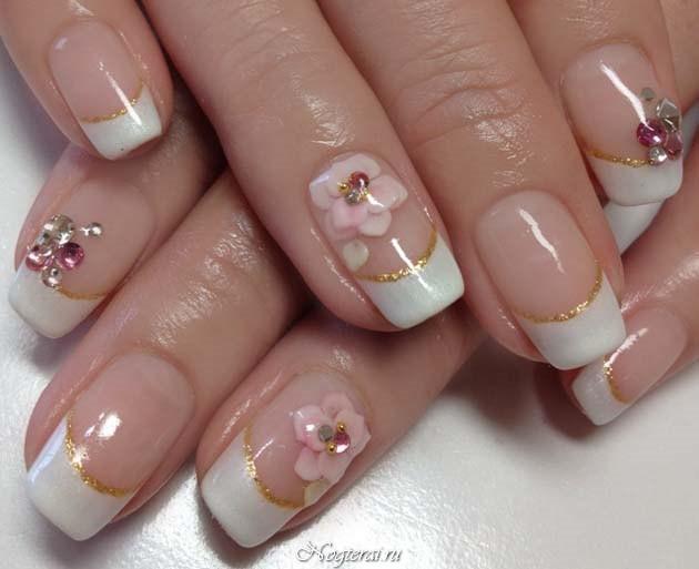 Дизайн квадратных ногтей фото 2016
