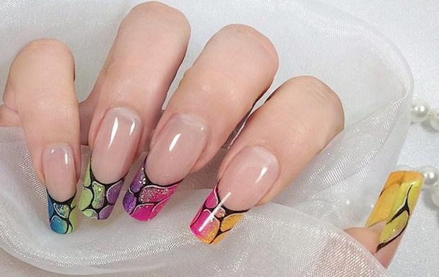 форма ногтей пайп