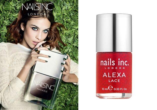 Лаки Nails Inc. с Алексой Чанг