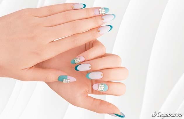 Дизайн ногтей на квадратные ногти 2017-2018