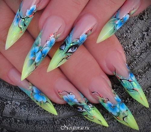 Какие формы ногтей бывают при наращивание