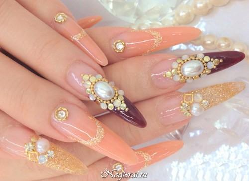 Виды форм ногтей при наращивании