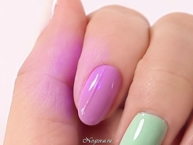 дизайн свитер на ногтях видео