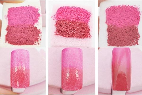 Как сделать градиент губкой
